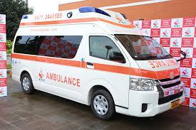 St. Joseph's Health Centre in the Kalba-Damongo Diocese receives ambulance from MP for the area