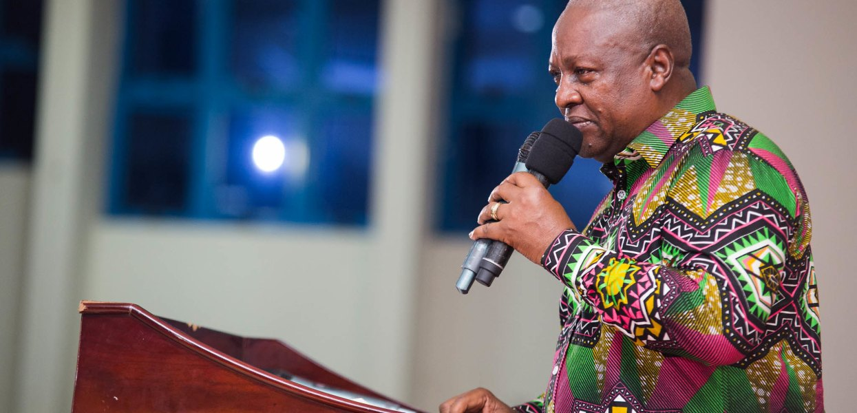 Gov't, security agencies must guarantee safety of journalists – Mahama