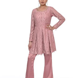 Pink Shamoz Frocks with Straight Pants