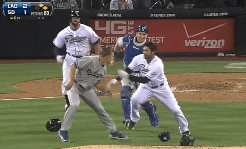 Dodgers Brawl 4.11.2013