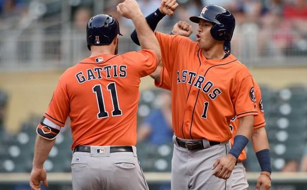 Houston Astros Ambushed all day in Minneapolis