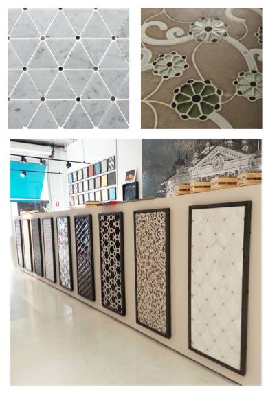 Bespoke_Mosaic Panels Display