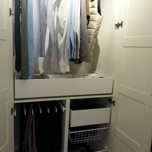 What a lovely wardrobe design!