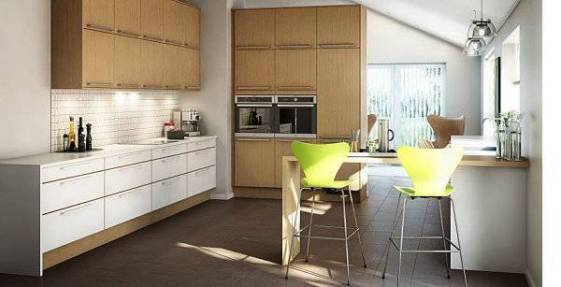 Clean-lined-Scandinavian-kitchen