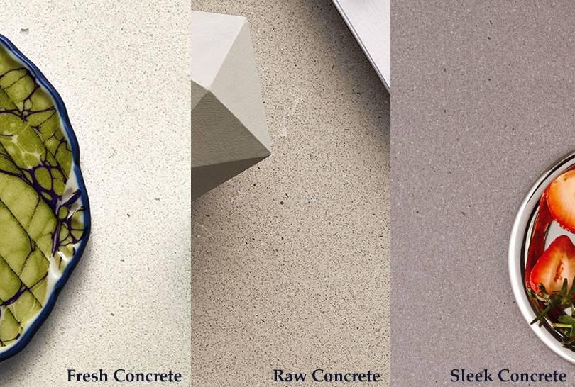 Caesarstone Concrete Collection