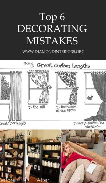 6 Decorating Mistakes_Blog by diamondinteriors.org