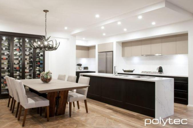 polytec vinyl wrap kitchen