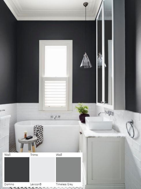 How to Choose White Paint - Dulux Lexicon Domino Timeless Grey