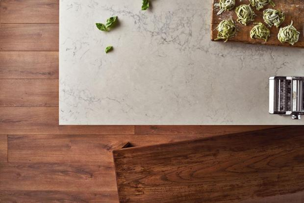 The Ultimate Kitchen Benchtop Buying Guide - Caesarsone Noble Grey