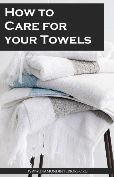 How to care for your towels_Blog by Diamond Interiors