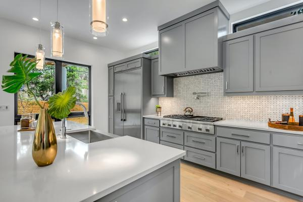 modern hamptons style kitchen: chipped or cracked stone benchtop fixes