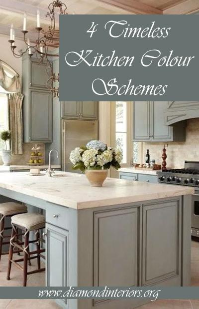 4 Timeless Kitchen Colour Schemes Diamond Interiors