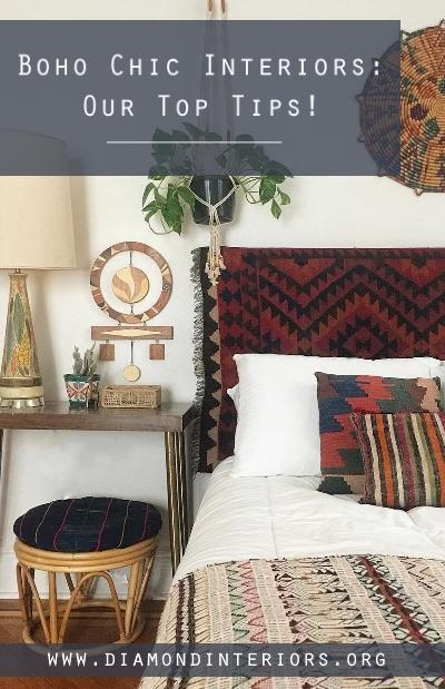 boho chic interior design tips