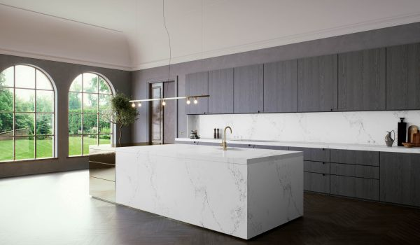 modern kitchen ideas - caesarstone