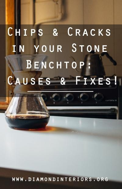 chipped or cracked stone benchtop fixes