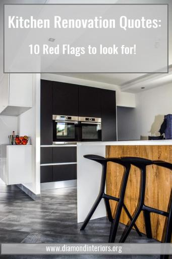 kitchen renovation quotes red flags to look for