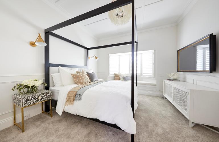 Master Bedroom The Block