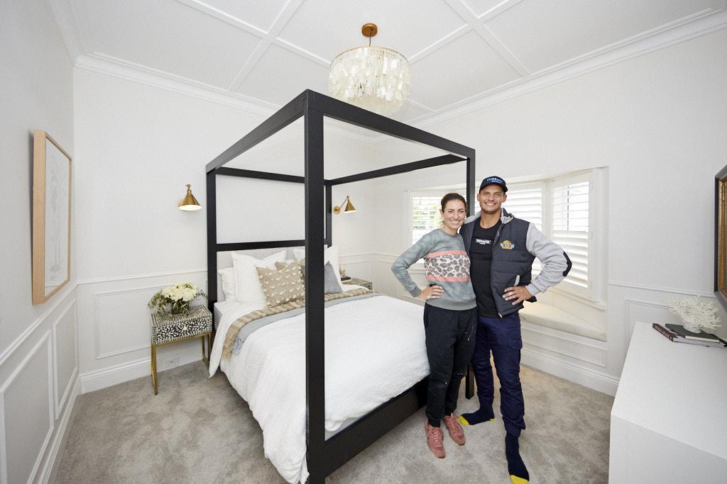 Master Bedroom Luke and Jasmin