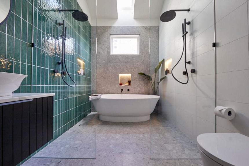 master ensuite - the block bathrooms 2020 - the block 2020