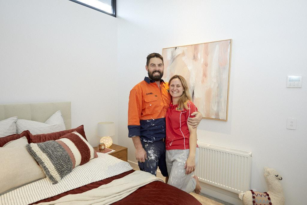 Daniel & Jade The Block 2020 - Bedroom Design