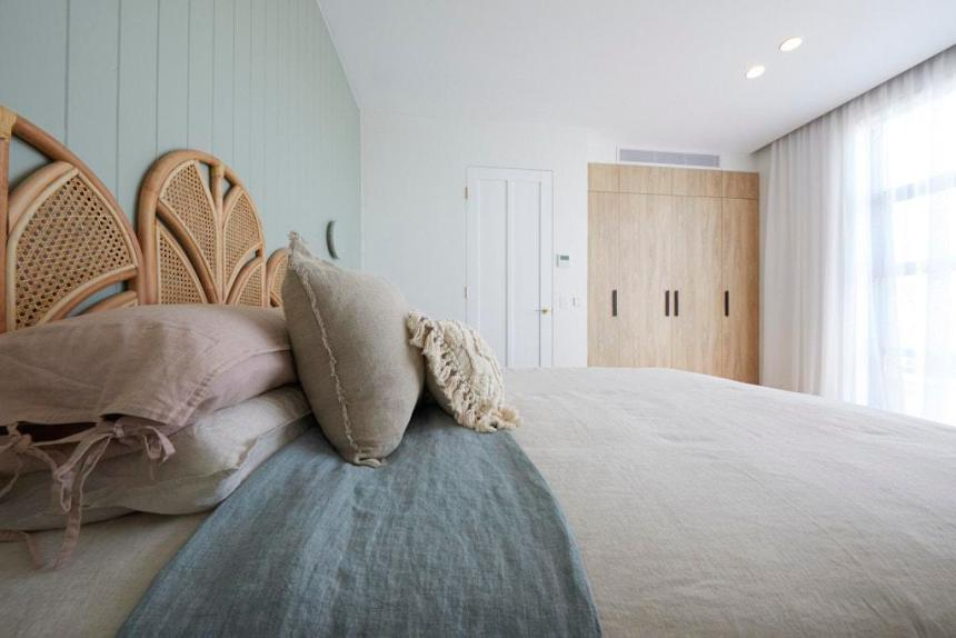 Luke & Jasmin The Block 2020 - Bedroom Decorating