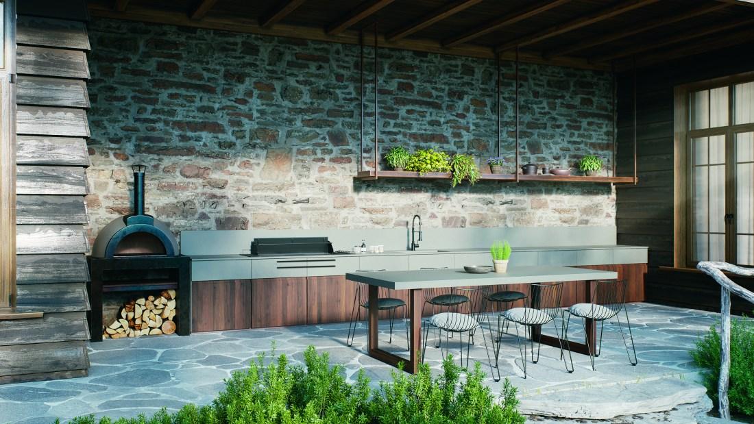 Caesarstone outdoor benchtop