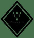 Diamond in the Ruff Design logo