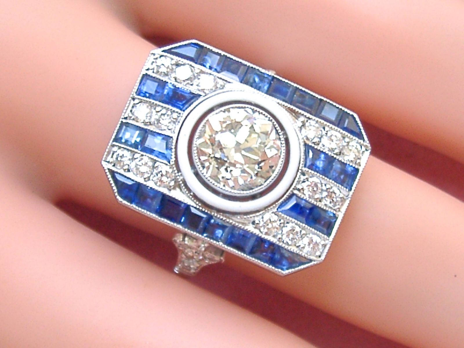 created silver emerald sterling sapphire watch gold s lab cut ring tcw over in rings men engagement