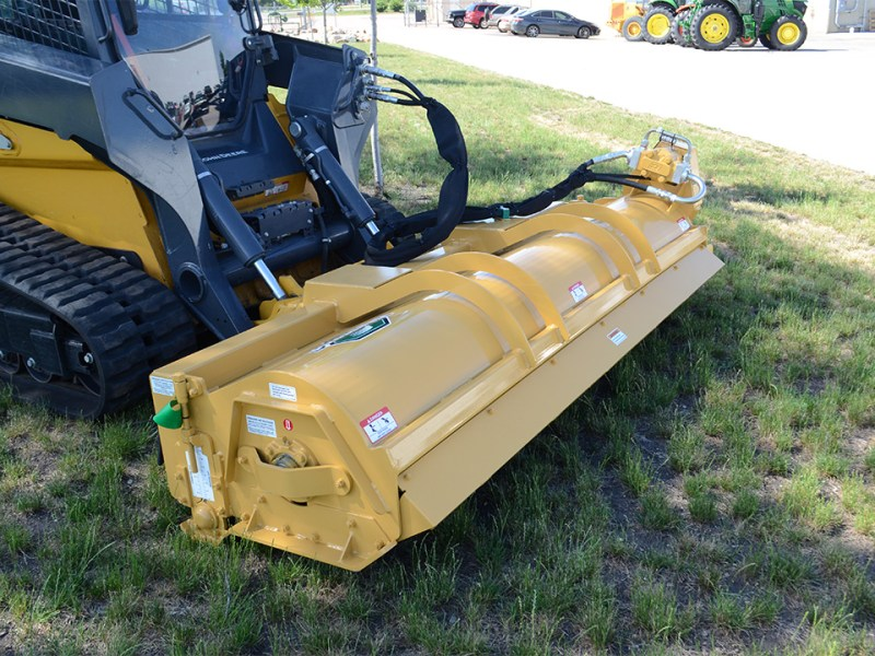 Skid-Steer Rotary Mower Attachment