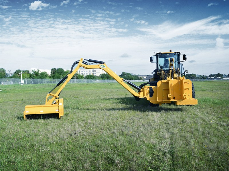 Wheel Loader Boom Attachment Extended