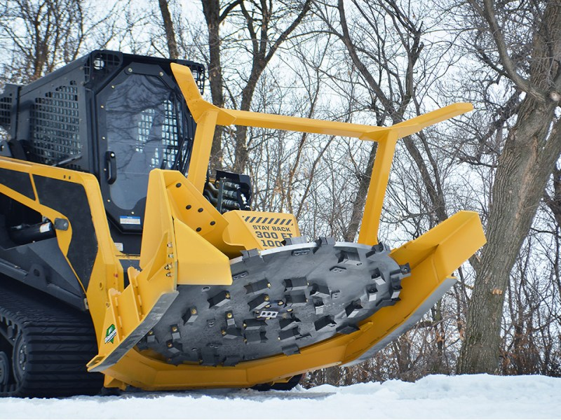 Skid-Steer Forestry Disc Mulcher