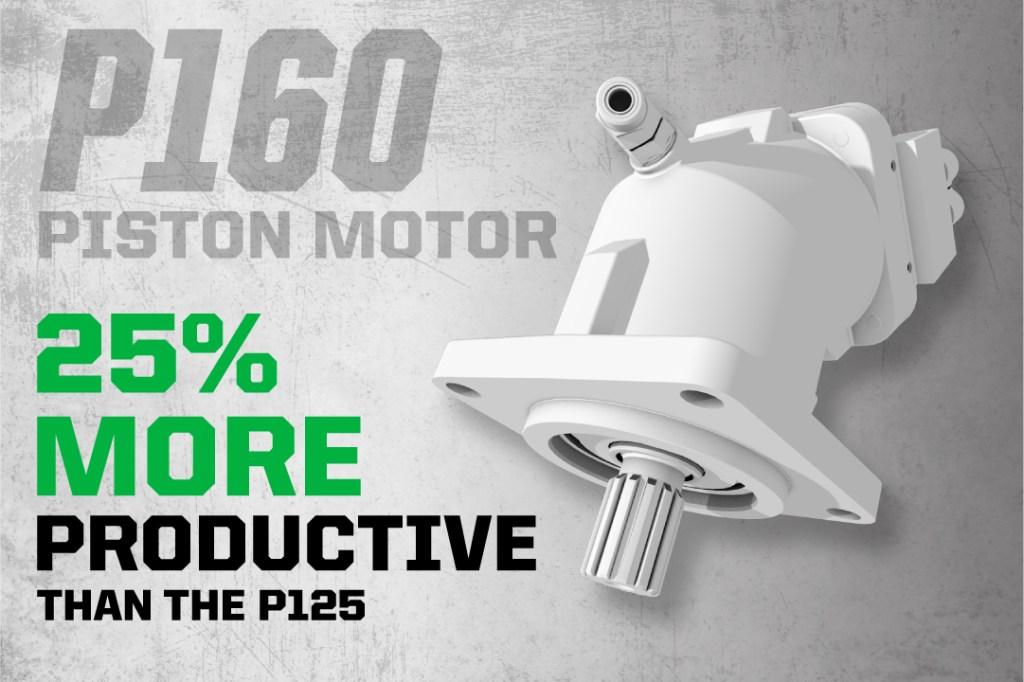 P160 Piston Motor