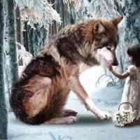 Wolf Girl Diamond Painting Kit