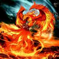 Fire Phoenix Diamond Painting Kit