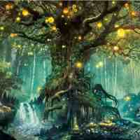 Glowing Tree Diamond Painting Kit