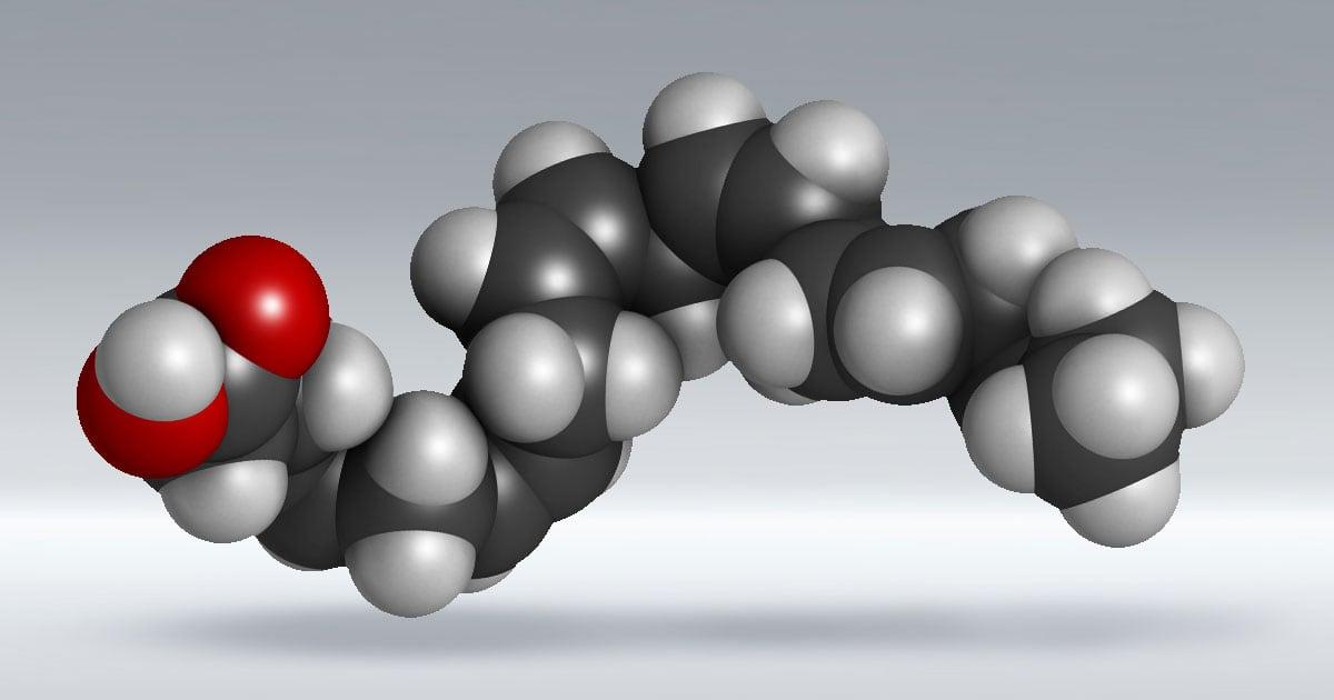 Omega Fatty Acids Molecular Illustration | Diamond Pet Foods