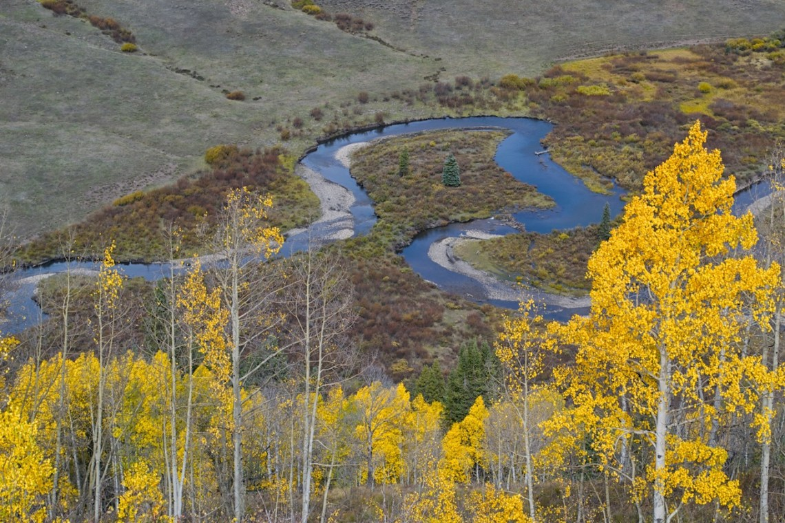 Snake River in fall