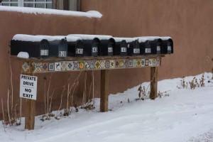 Santa Fe Mailboxes