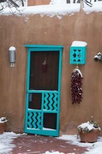 Turquoise Doorway