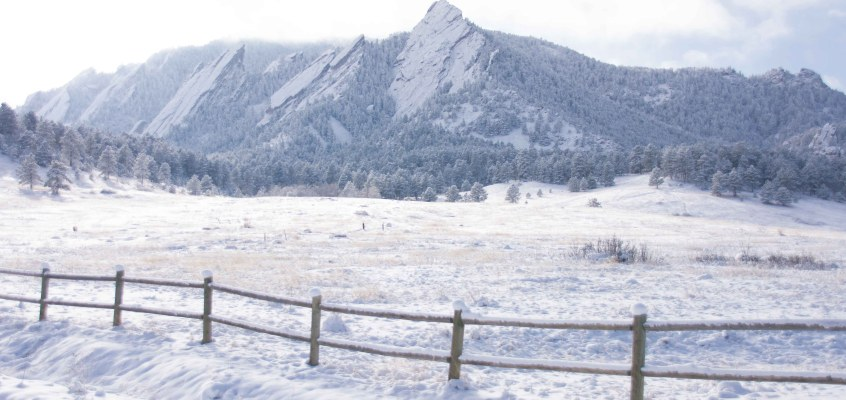 Winter Hiking in Boulder