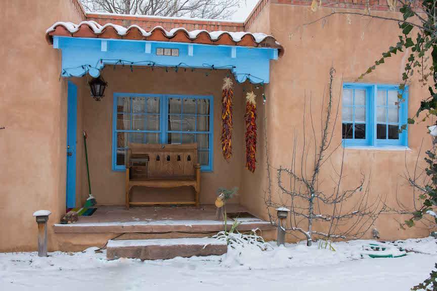 Christmas in Santa Fe, New Mexico