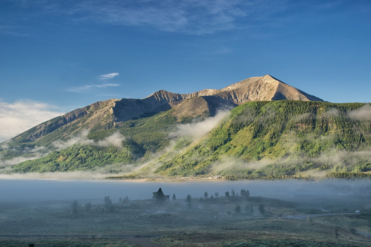 Crested Butte Morning Fog