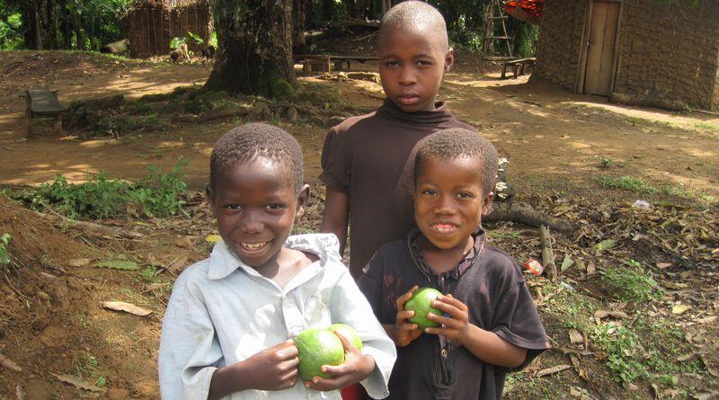 リベリアの子どもたち