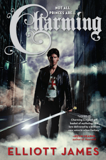 Charming by Elliot James. An ex-vigilante gets back into the game of battling supernatural baddies. Click through for full review. Via Diamonds in the Library.