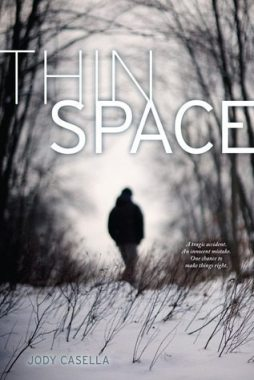 My review of Thin Space by Jody Casella, a beautifully-written, haunting book about a teenage boy who has recently lost his twin brother in a car accident. Via Diamonds in the Library.