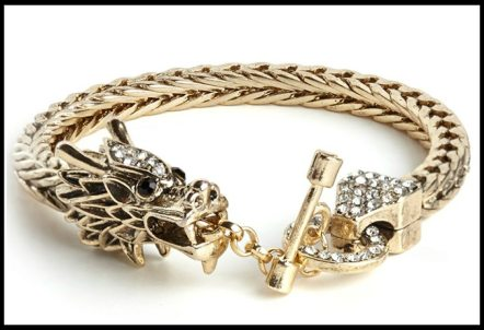 BaubleBar Khaleesi Bracelet. Via Diamonds in the Library's jewelry gift guide.