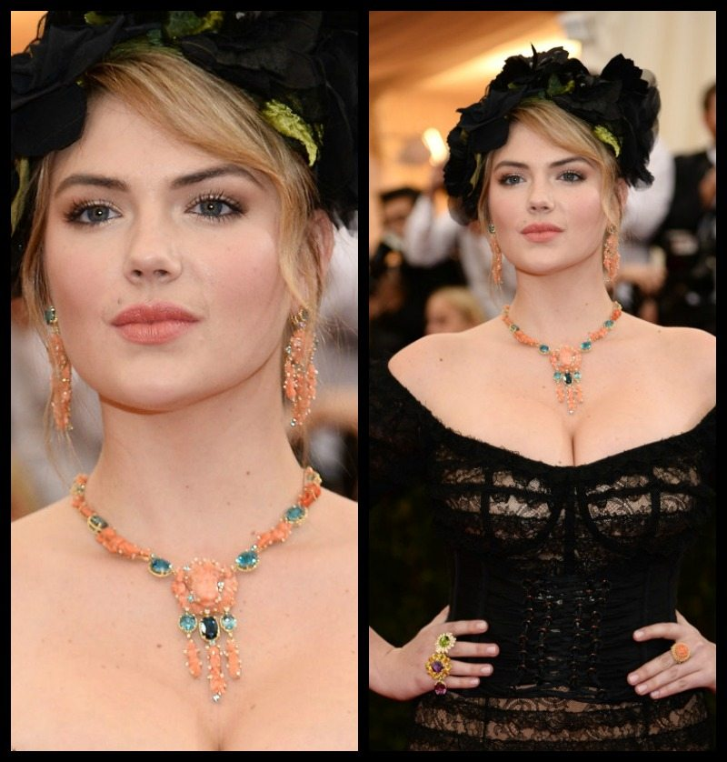 Kate Upton at the 2014 Met Gala.