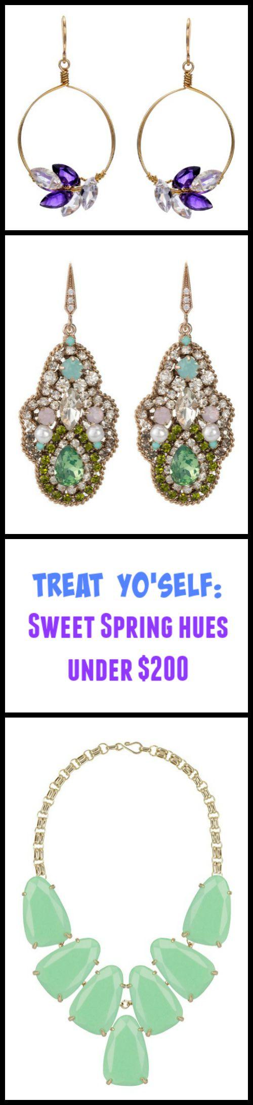 Treat Yo'self sweet spring hues under $200
