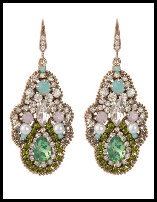 Theia Moroccan Garden earrings
