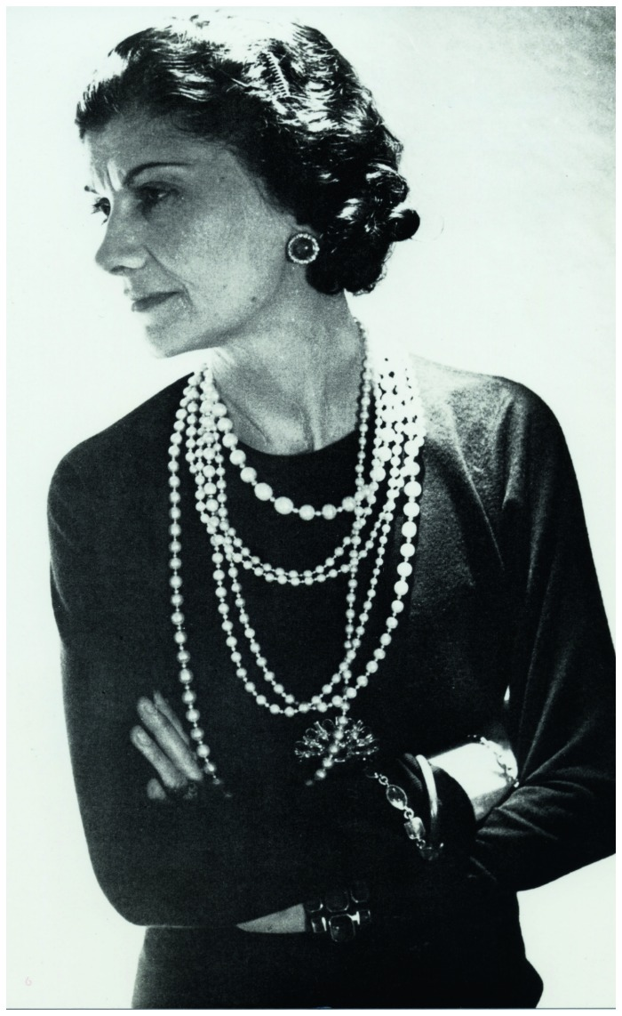 Coco Chanel loved to mix priceless real pieces with costume jewelry. She even had a strand of pearls that had belonged to the Romonov family; she loved to layer them with her costume jewelry.